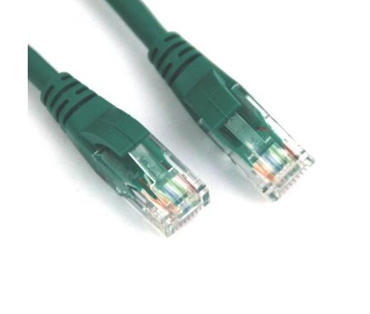 VCOM kábel Utp Cat6 Patch 0.5M, Zöld
