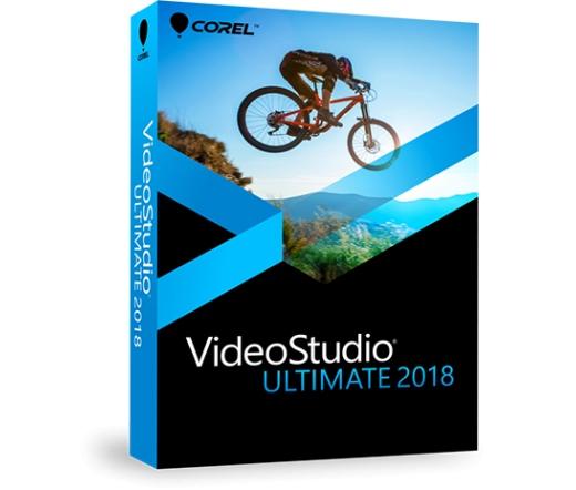 SW COREL VideoStudio Pro 2018 Ultimate ENG ML Dobozos