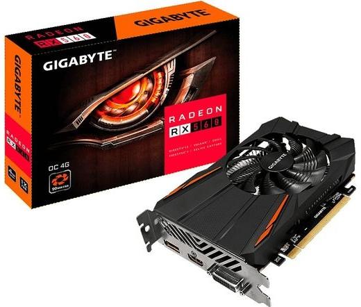 VGA GIGABYTE RX560 OC 4GB