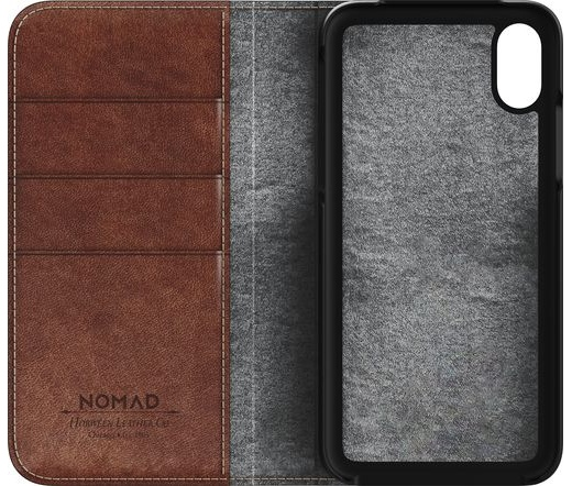 Nomad - Traditional Leather Folio (iPhone X)