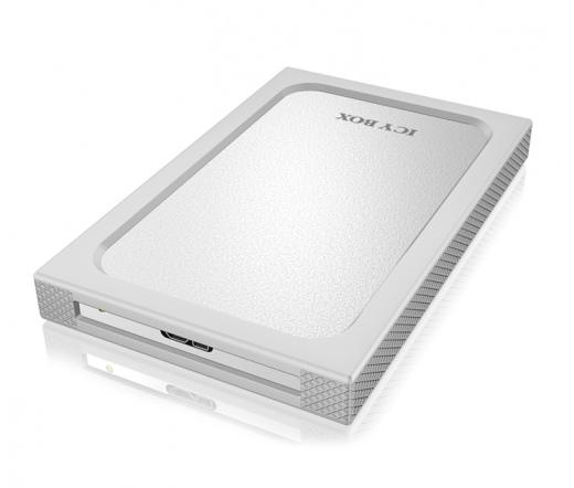 """RAIDSONIC IB-253U3 Icy Box Ext. 7mm 2,5"""" SATA to USB3.0 white"""