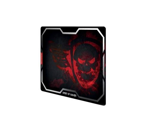 Spirit of Gamer SMOKEY SKULL Red (430 x 320 x 3mm; piros)