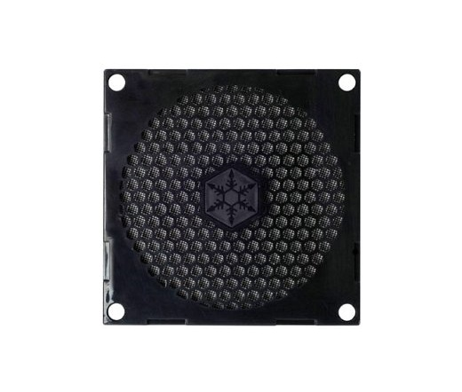 SILVERSTONE 80mm Fan Grill + Filter Kit