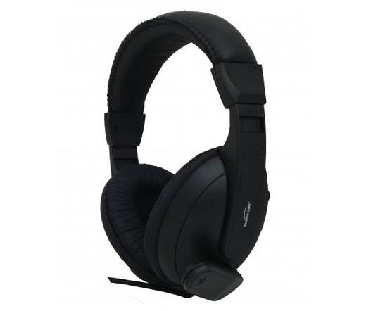 Silver Line HS-66V mikrofonos fejhallgató