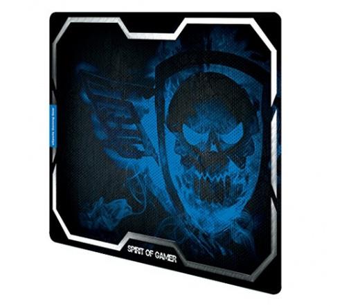 Spirit of Gamer SMOKEY SKULL Blue (430 x 320 x 3mm; kék)