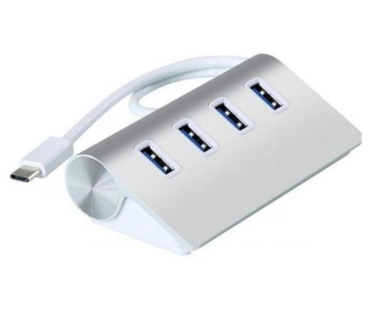 VCOM USB3.1 C-Type Hub USB3.0 4 Port (Dh316)