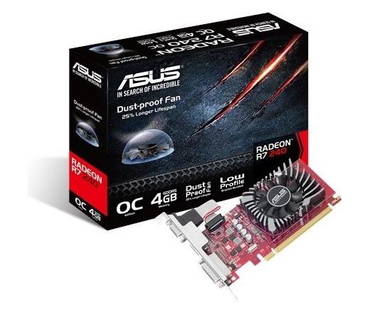 VGA ASUS R7 240-OC-4GD5-L 4GB DDR5