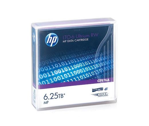 HP ADATKAZETTA LTO-6 Ultrium 6.25TB MP RW Data Cartridge