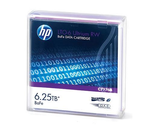 HP Adatkazetta LTO6 6.25TB BAFE RW