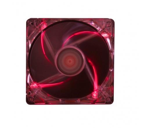 COOLER XILENCE 120*120 PERFORMANCE C átlátszó piros (XF046)