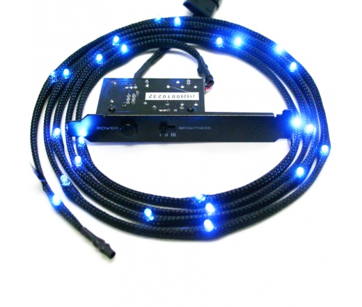 NZXT CB-LED20-BU 24x Kék LED Sleeve - 2m