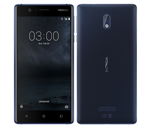 TEL NOKIA 3 DS Blue 16GB