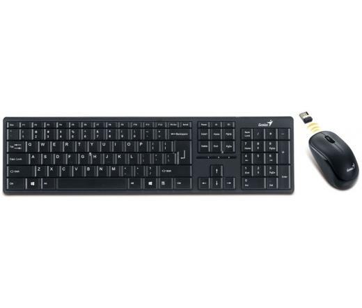GENIUS Keyboard SlimStar 8000ME vezetéknélküli billentyűzet + egér