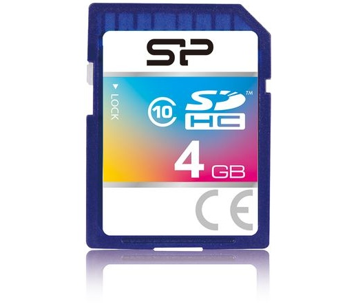 Card SDHC Silicon Power 4GB CL10