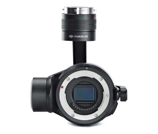 DJI ZENMUSE X5S Part 1 Gimbal and Camera(Lens Excluded)