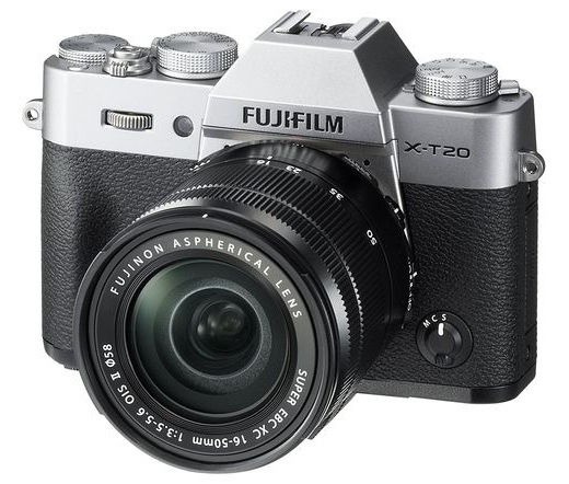 FUJIFILM X-T20 XC16-50mm f/3.5-5.6 OIS II Szürke Kit