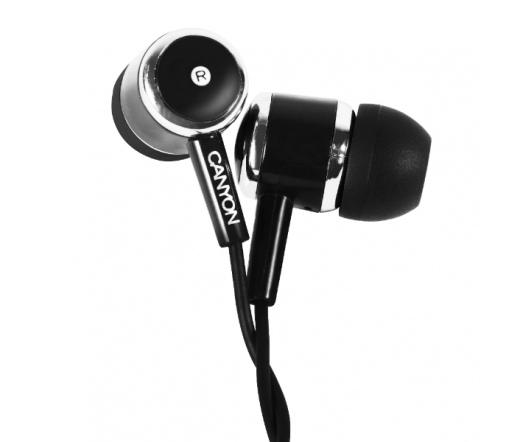 CANYON CNE-CEP01B fülhallgató Fekete
