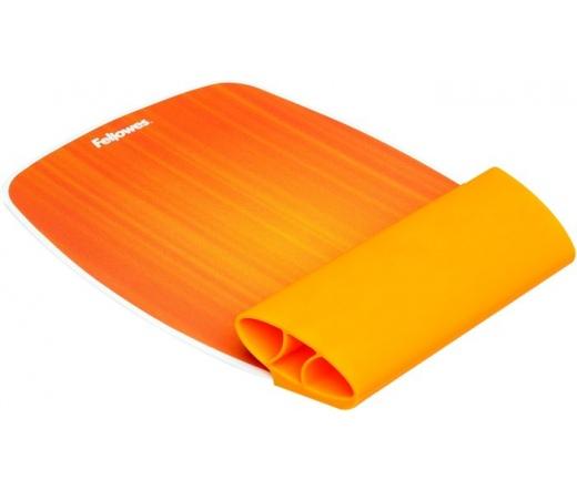 FELLOWES naplemente-narancs szilikonos csuklótámasszal