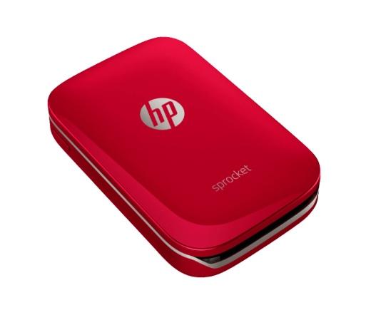 HP Sprocket piros