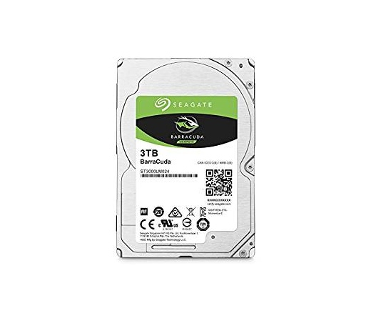 NOTEBOOK SEAGATE Barracuda 3TB 5400rpm SATA-III 12...