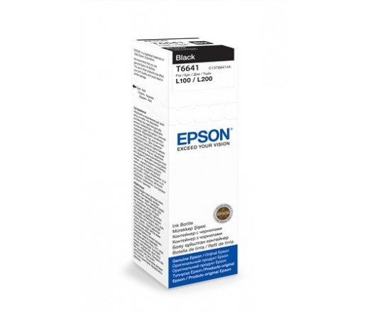 Patron Epson T6641 Black ink container 70ml
