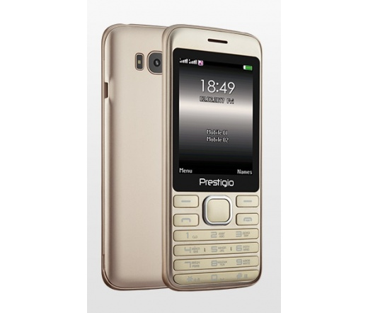 Prestigio Grace A1 Dual SIM mobiltelefon arany