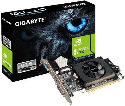 VGA GIGABYTE GT710 2GB DDR3 LP