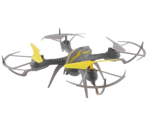 Overmax X-bee drone 2.4 szürke-sárga drón