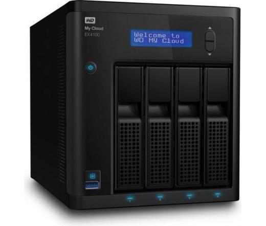 NAS WD My Cloud  EX4100  WDBWZE0000NBK-EESN