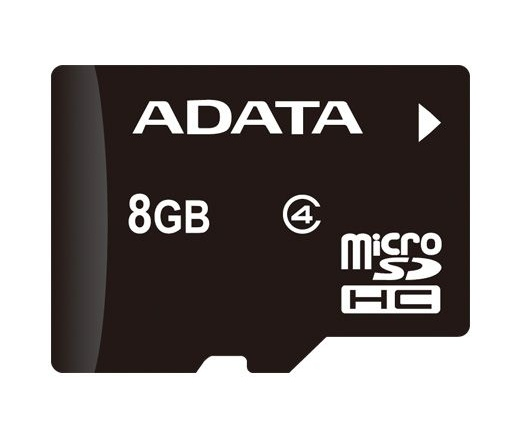 Card MICRO SDHC Adata 8GB CL4